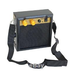 Magideal Mini Guitare Haut-parleur Amplificateur Basse Amp 5w Avec Dragonne