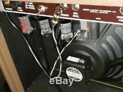 Marsh 6g3 Brown Deluxe 15 Watt Amplificateur Tout Neuf! 12 Weber Alnico Président