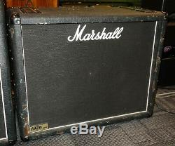 Marshall 1936 2x12 Desserte Cabine Guitare Avec Haut-parleurs Weber Silverbell