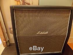 Marshall 1960 Ahw 4 X 12 Lautsprecher Box Leer Ohne Président Mit Rollen