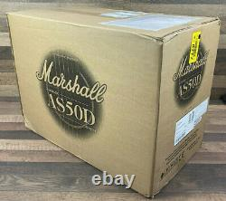 Marshall As50d 50 Watts Acoustic Guitar Combo Amplificateur 2x8 Haut-parleurs & MIC Input