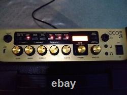 Marshall Code 25 Combo Amp- 10 Speaker- Bluetooth, Multi Effects- Mint