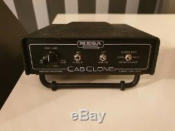 Mesa Boogie Cabclone Simulateur De Haut-parleur 16 Ohms Et Loadbox