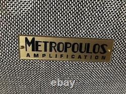 Metropoulos Amplification True Replica 4x12 Speaker Cabinet Metro Pour Guitar Amp