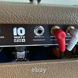Milkman Pinte 10 Watts 1x12 Combo Guitare Avec Alnico Haut-parleur Bleu