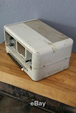 Moniteur De Haut-parleur Amplificateur À Tube De Guitare Vintage Dukane 4c100b Pour La Réparation De Pièces