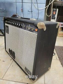 Music Man 112 Rd Amplificateur De Guitare 60-five Tubby Alnico Red Speaker Lire
