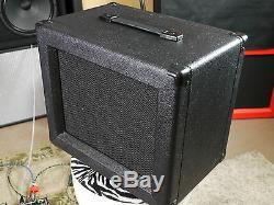 Nouveau! Son Set Beach 1x10 Noir Orange (ou Choisir) Guitar Speaker Cab Onu Chargée