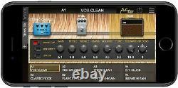 Nouveau Vox Guitar Amplificateur Modeling Haut-parleurs Bluetooth Air Gt Japon F / S