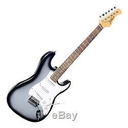 Nouvelle Guitare Électrique Pegkt15gs Beginner Avec Amplificateur, Haut-parleur Et Sac