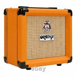 Orange Ppc108 1x8 Closed-back Speaker Cabinet Avec Orange Mt20 Micro Terror Head