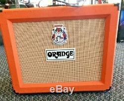 Orange Rocker 30 Ampli Combo Guitare 1x12 Vintage 30 Haut-parleur Amplificateur Utilisé