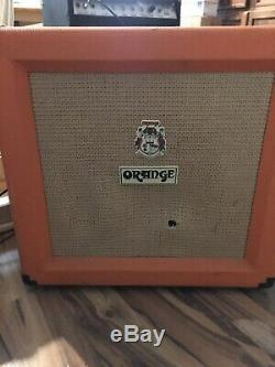 Orange Tiny Terror Combo Ampli Guitare 15 Watts Tube 12 Haut-parleurs British Tone