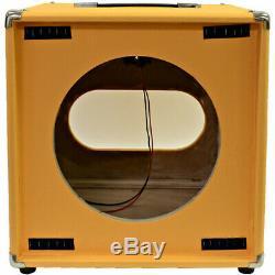 Orange Tolex Guitare Enceintes Vider 1x12 Cube Cab