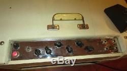 Original Vintage Maestro Ga-45t Amplificateur Combo Original Blanc Tolex Jbl Haut-parleur