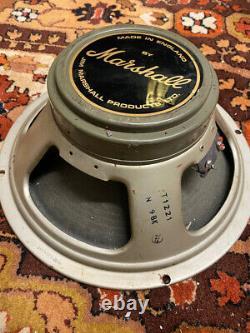 Paire Assortie 2x Vintage 1969 1960s Celestion Greenback T1221 G12 Speaker Driver