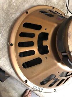 Paire De Haut-parleurs Pour Amplificateur De Guitare Oxford 12t-6 465-937 12 Compatible Avec Fender Gold Back