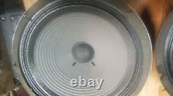 Paire De Haut-parleurs Vintage Celestion G12h Blackback 8ohm 30w T1234