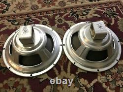 Paire De Haut-parleurs Vintage Oxford 12 Haut-parleurs 4 Ohms Guitar Amplificateur
