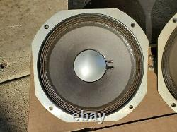 Paire De Jbl E110 10 8 Ohm Guitar Speaker