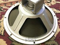 Paire De Vintage Cleveland 12 Haut-parleurs 8 Ohms Guitar Amplificateur Ribbed Cone