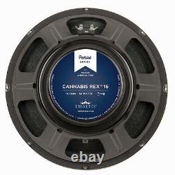 Paire Eminence Patriot Cannabis Rex 12 Pouces Lead Rhythm Guitar Speaker 16 Ohm 50w