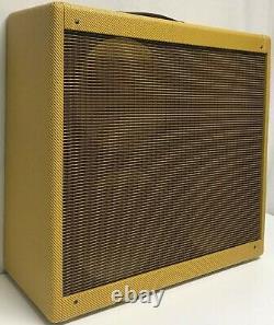 Panneau Étroit Tweed Bassman Guitar Amplificateur Combo Speaker Cabinet