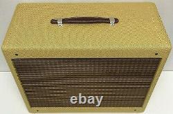 Panneau Étroit Tweed Deluxe Guitar 5e3 Amplificateur Extension Speaker Cabinet