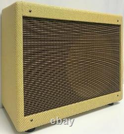Panneau Étroit Tweed Deluxe (bleus Junior) Amplificateur De Guitare Combo Speaker Cabinet