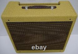 Panneau Étroit Tweed Princeton Guitar 5f2 Amplificateur Combo Speaker Cabinet