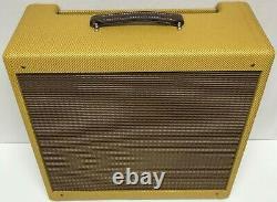 Panneau Étroit Tweed Pro 1x15 Combo Guitar 5e5 Amplificateur Haut-parleur Cabinet