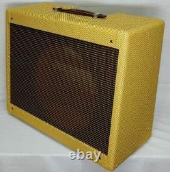 Panneau Tweed Deluxe Affinez Guitar (pro Junior) Amplificateur Combo Enceinte