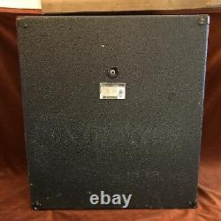 Peavey 115 Bw Enclosure 1x15 Bass Cabinet With Black Widow Speaker