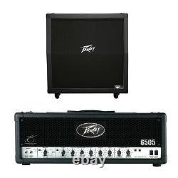 Peavey 430a 412 Électrique Guitar Slant Cabinet (4) 12 Haut-parleurs Et 6505 Amp Head