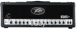 Peavey 6505 Plus Ampli Guitare Électrique 120w Tête D'ampli 3 Égaliseurs & Câbles