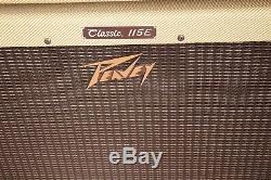 Peavey Classic 50 With115e Président Cab Tube Guitar Amp Tweed