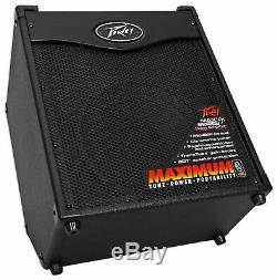 Peavey Max 110 Ampli Combo Ampli Guitare Basse Électrique 100 Watts Avec 10 Haut-parleurs