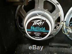 Peavey Spécial 212 Transtube 2x12 Guitar Combo Amplifier Sheffield 1230 Haut-parleurs