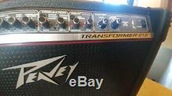 Peavey Transformer 212. 2x12 Haut-parleurs. Trans Tube. Incroyable Amplificateur À L'état Solide