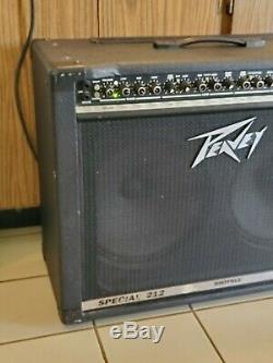 Peavey Transtube Spécial 212 Amplificateur De Guitare. Double Sheffield 1230 Haut-parleurs. Pro
