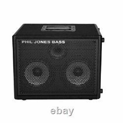 Phil Jones Bass Cab 27 200w 2x7 Haut-parleurs D'enceintes Bass Cabine Avec 3 Tweeter