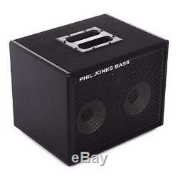 Phil Jones Bass Cab 27 2x7 Bass Speaker Cab 200w 8 Ohms With3 Tweeter