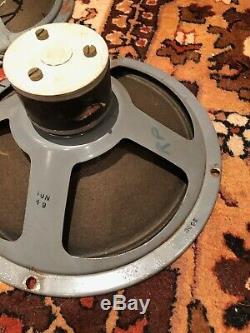 Pilotes De Haut-parleurs Elac 10n / 49 10 Vintage Des Années 1960 Pour Amplificateur Vox Ac10 Watkins Wem