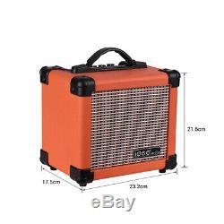 Portable Bt Ampli Guitare Électrique Haut-parleurs Haut-parleurs Amp 10w Deux Canaux V2q5