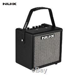 Portable Mini Guitare Électrique Amplificateur Haut-parleur Haut-parleurs Amp 8w 3 Effets Y5r0