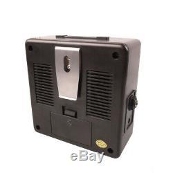Portable Mini Guitare Électrique Amplificateur Haut-parleur Haut-parleurs D'ampli Et 3m Câble De Guitare