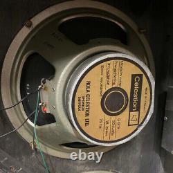 Quad 4x Vintage 1972 Celestion G12s 20w T1417 12 Haut-parleurs 102 3 Cones