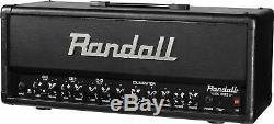 Randall 100 Watts Tête D'ampli Guitare + Haut-parleur Meuble À Roulettes
