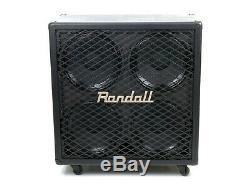 Randall Baffle Enceinte Guitare Randall Rg412 4x12 200w 8 Ohms Boxed Nouveau
