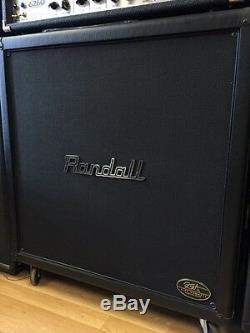 Randall Kirk Hammett Rs412kh100 4x12 100 Haut-parleurs Avec MIC Eliminator Circuit